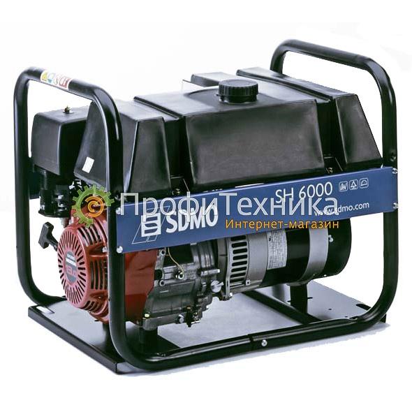 Генератор бензиновый SDMO SH 6000-S