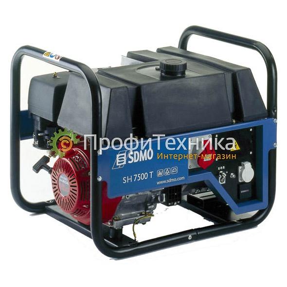 Генератор бензиновый SDMO SH 7500 T-S