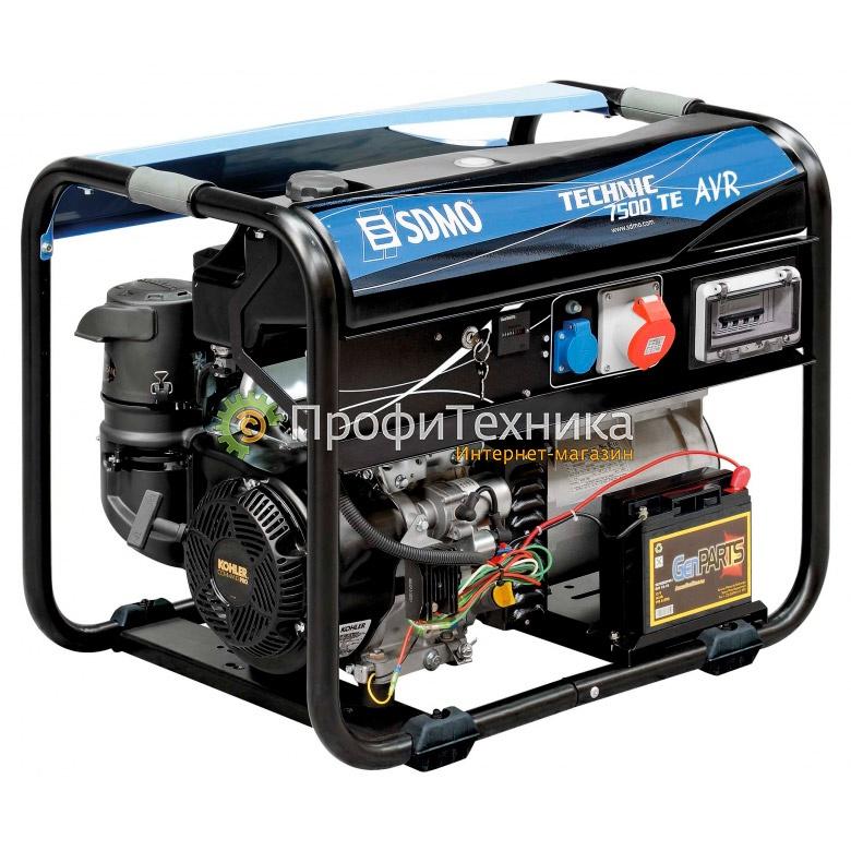 Генератор бензиновый SDMO TECHNIC 7500 TE